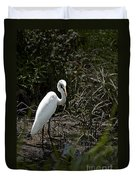 Looking For Lunch Duvet Cover by Tamyra Ayles