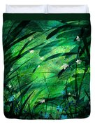 Lost In Paradise Duvet Cover by Rachel Christine Nowicki