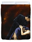 Lost In Tango Duvet Cover by Richard Young