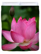 Lotus--Shades of Past and Future DL029 Duvet Cover by Gerry Gantt