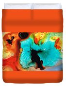 Love And Approval Duvet Cover by Sharon Cummings