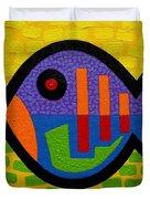 Lucky Fish II  Duvet Cover by John  Nolan
