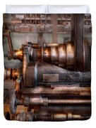 Machinist - Steampunk - 5 Speed Semi Automatic Duvet Cover by Mike Savad