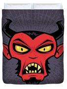 Mad Devil Duvet Cover by John Schwegel