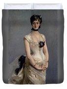 Madame Paul Poirson Duvet Cover by John Singer Sargent