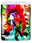 Madi Gras Duvet Cover by Brian Roscorla