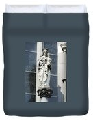 Madonna And Child Duvet Cover by Teresa Mucha