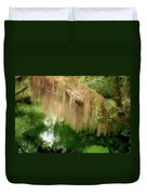 Magical Hall Of Mosses - Hoh Rain Forest Olympic National Park Wa Usa Duvet Cover by Christine Till