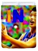Magical Jeremy Lin Duvet Cover by Paul Van Scott