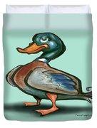 Mallard Duck Duvet Cover by Kevin Middleton