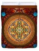 Mandala Arabia Duvet Cover by Bedros Awak