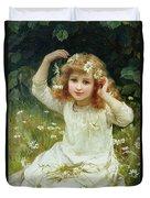Marguerites Duvet Cover by Frederick Morgan