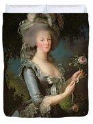 Marie Antoinette Duvet Cover by Elisabeth Louise Vigee Lebrun