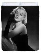 Marilyn Monroe Duvet Cover by American School