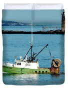 Maritime Duvet Cover by Greg Fortier