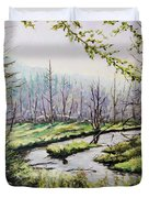 Marsh Lands Duvet Cover by Richard T Pranke