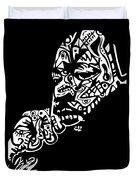 Martin Luther King Jr. Duvet Cover by Kamoni Khem