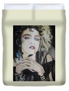 Material Girl Duvet Cover by Lance Gebhardt