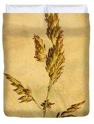 Meadow Grass Duvet Cover by John Edwards