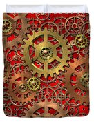 mechanism Duvet Cover by Michal Boubin