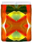 Meditation Duvet Cover by Amy Vangsgard