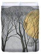Megamoon Duvet Cover by Ann Brain