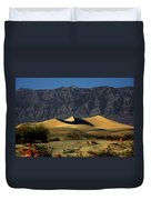 Mesquite Flat Dunes - Death Valley California Duvet Cover by Christine Till
