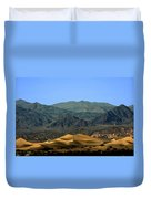 Mesquite Flat Sand Dunes - Death Valley National Park Ca Usa Duvet Cover by Christine Till
