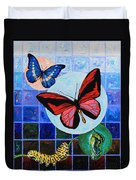 Metamorphosis Of The New Life Duvet Cover by John Lautermilch