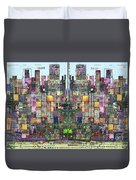 Metropolis Vi Duvet Cover by Andy  Mercer