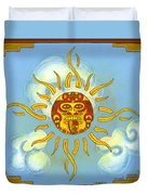 Mi Sol Duvet Cover by Roberto Valdes Sanchez