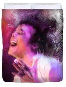 Michael Jackson 11 Duvet Cover by Miki De Goodaboom