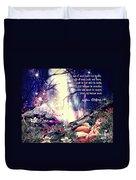 Midsummer Night Dream Duvet Cover by Mo T