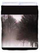 Misty Duvet Cover by Linda Shafer