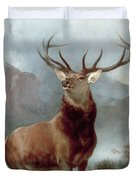 Monarch Of The Glen Duvet Cover by Sir Edwin Landseer