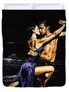 Moonlight Tango Duvet Cover by Richard Young