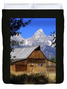 Mormon Row Barn  1 Duvet Cover by Marty Koch