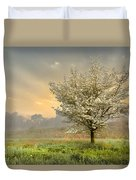 Morning Celebration Duvet Cover by Debra and Dave Vanderlaan