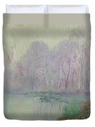 Morning Mist Duvet Cover by Gustave Loiseau