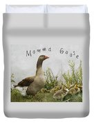 Mother Goose Duvet Cover by Juli Scalzi
