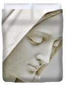 Mother Mary Comes To Me... Duvet Cover by Greg Fortier
