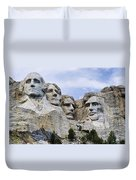 Mount Rushmore National Monument Duvet Cover by Jon Berghoff