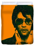 Mugshot Elvis Presley Duvet Cover by Wingsdomain Art and Photography
