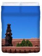 Museum Of Indian Arts And Culture Santa Fe Duvet Cover by Susanne Van Hulst
