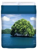 Mushroom-shaped Island Duvet Cover by Dave Fleetham - Printscapes