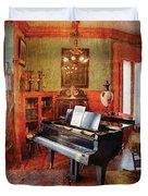 Music - Piano - It's A Long Long Way To Tipperary Duvet Cover by Mike Savad