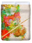 Music In My Soul Duvet Cover by Nikki Smith