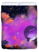 My Space Duvet Cover by Methune Hively