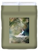 Mystic Contemplation Duvet Cover by Mary Hood