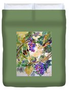 Neighborhood Grapevine Duvet Cover by Kathy Braud